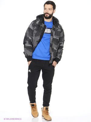 Пуховик Snowcamo Adidas. Цвет: черный
