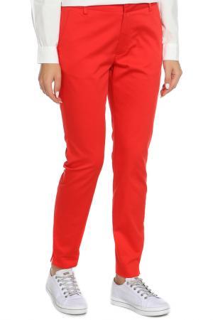 Слегка зауженные брюки B.YOUNG. Цвет: 80636 красный