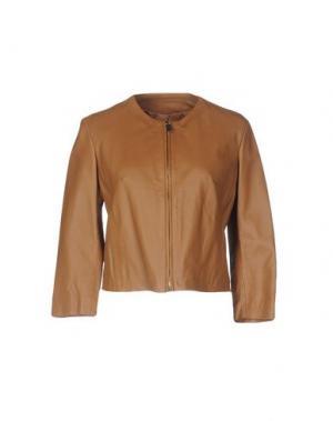 Куртка HOPE COLLECTION. Цвет: коричневый
