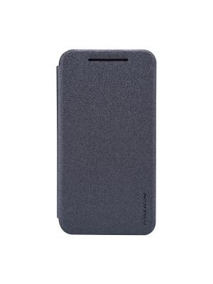 Чехол-книжка для HTC Desire 210 Sparkle leather case Nillkin. Цвет: черный