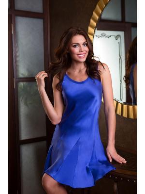 Ночные сорочки Mia-Mia. Цвет: синий