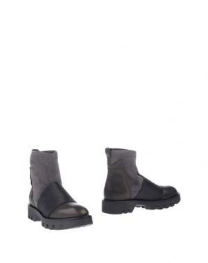 Полусапоги и высокие ботинки MANILA GRACE. Цвет: стальной серый