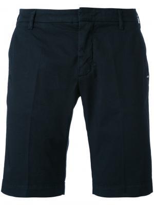 Классические шорты Entre Amis. Цвет: синий