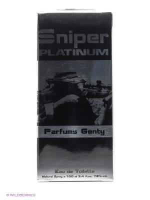 SNIPER PLATINUM EDT 100 ML SPRAY PARFUMS GENTY. Цвет: прозрачный