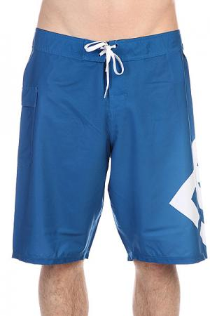Шорты пляжные DC Lanai 22 Snorkel Blue Shoes. Цвет: голубой