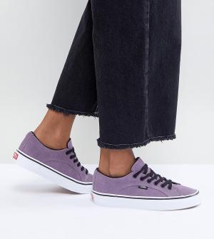 Vans Фиолетовые кеды унисекс Lampin. Цвет: фиолетовый