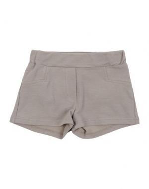 Повседневные шорты LE PETIT COCO. Цвет: хаки