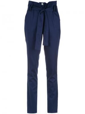 High waist trousers Olympiah. Цвет: синий