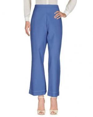 Повседневные брюки PURIFICACION GARCIA. Цвет: синий