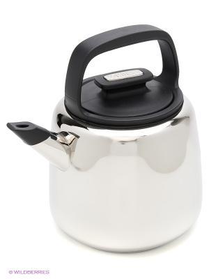 Чайник Sorrento 2,0л черный Zanussi. Цвет: серебристый
