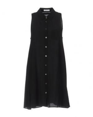 Короткое платье EQUIPMENT FEMME. Цвет: черный