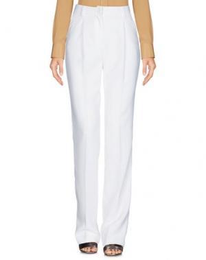 Повседневные брюки ALMAGORES. Цвет: белый