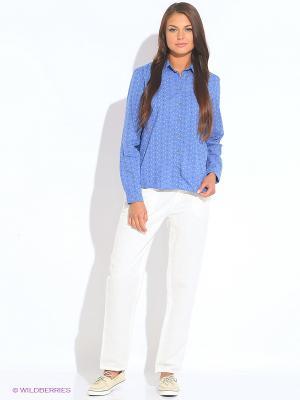 Рубашка TIMBERLAND. Цвет: синий