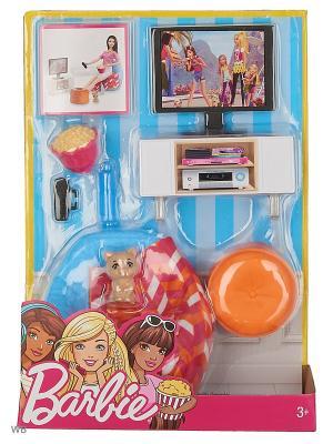 Наборы мебели Отдых дома в ассортименте Barbie. Цвет: голубой