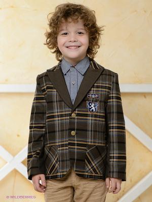 Пиджак CHOUPETTE. Цвет: коричневый, черный