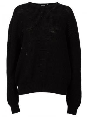 Классический свитер Yang Li. Цвет: чёрный