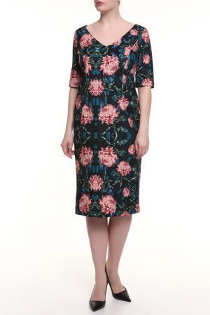 Платье 22 MAGGIO. Цвет: мультицвет