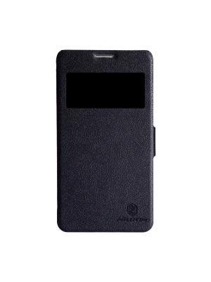 Чехол Huawei Honor 3X (G750) Fresh Series Leather Case Nillkin. Цвет: черный