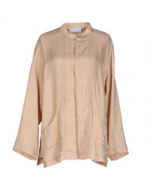 Pубашка WEILI ZHENG. Цвет: песочный