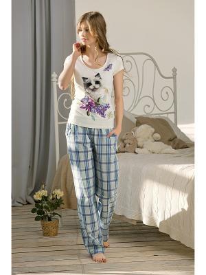 Пижама PELICAN. Цвет: молочный