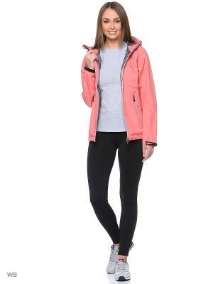 Куртка Stayer. Цвет: розовый, белый
