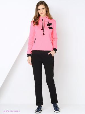 Спортивный костюм TOPSANDTOPS. Цвет: розовый