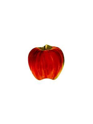 Тарелка  Красно-жёлтое яблочко Elff Ceramics. Цвет: красный, зеленый
