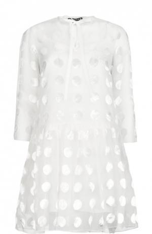 Платье Rochas. Цвет: белый