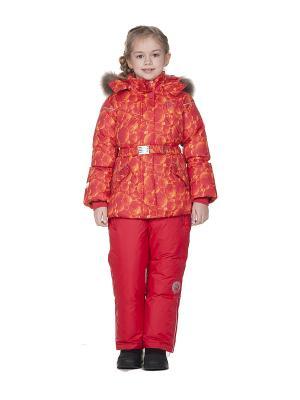 Комплект одежды NELS. Цвет: красный, желтый