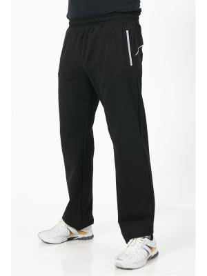 Спортивные брюки CROSS sport. Цвет: черный