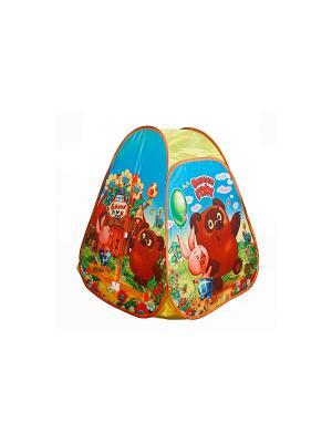 Детская игровая палатка Играем Вместе винни-пух. Цвет: желтый