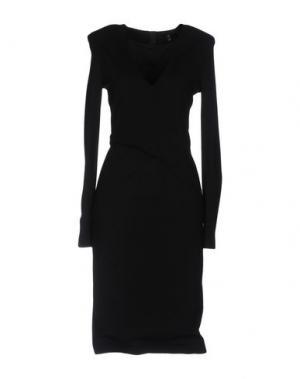 Платье до колена SLY010. Цвет: черный