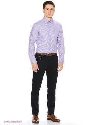 Рубашка Reserved. Цвет: сиреневый, бронзовый
