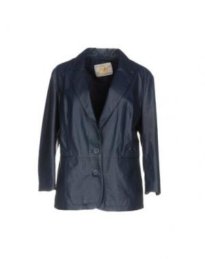 Пиджак VINTAGE DE LUXE. Цвет: темно-синий