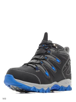 Ботинки QWEST. Цвет: черный, серый, синий