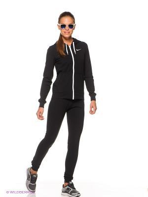 Спортивный костюм NIKE JERSEY CUFFED TRACKSUIT. Цвет: черный