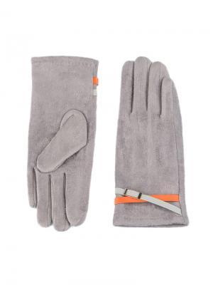 Перчатки Sabellino. Цвет: светло-серый