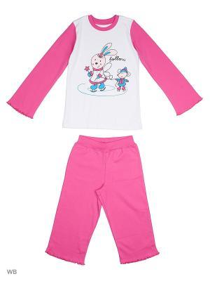 Пижама костюм ВАЛЕНТИНА СТИЛЬ. Цвет: розовый
