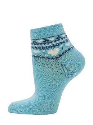 Носки, 2 пары HOSIERY. Цвет: голубой