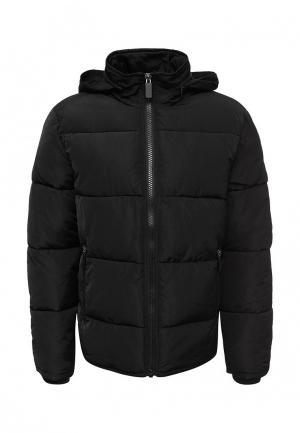 Куртка утепленная Topman. Цвет: черный