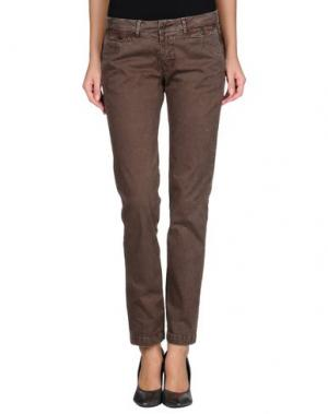 Повседневные брюки SAN FRANCISCO. Цвет: темно-коричневый