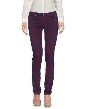 Повседневные брюки ROŸ ROGER'S. Цвет: баклажанный