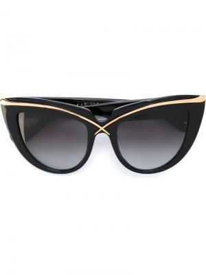 Солнцезащитные очки Lusciousness Anna Karin Karlsson. Цвет: чёрный