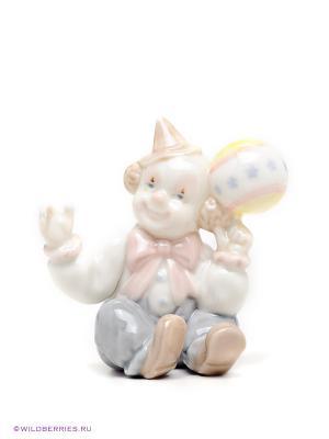 Фигурка Клоун Pavone. Цвет: белый (осн.), зеленый, розовый