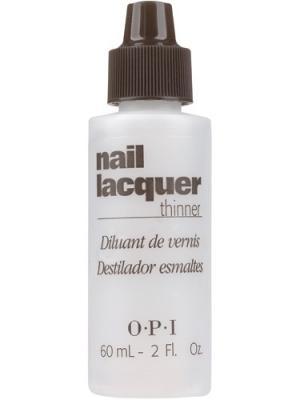 Opi Жидкость для разбавления лака без ацетона Nail Lacquer Thinner, 60 мл. Цвет: прозрачный
