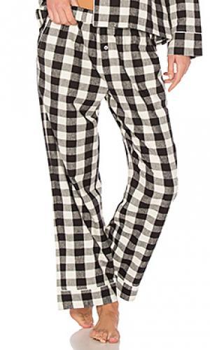 Пижамные брюки lilou Skin. Цвет: черный