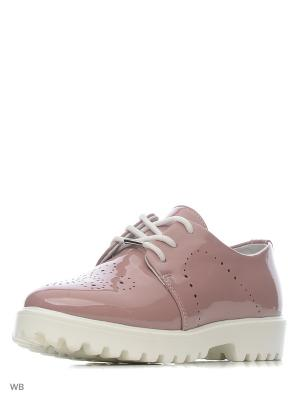 Ботинки San Marko. Цвет: бледно-розовый