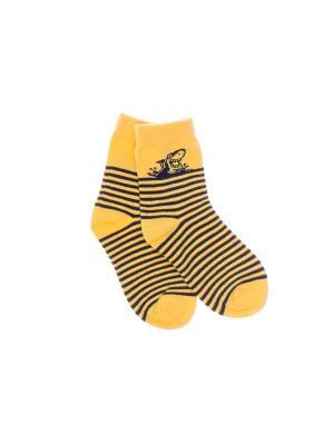 Носки PlayToday. Цвет: желтый