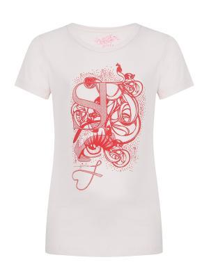 Футболка, Tuuli, цвет розовый (Rhinestone) SUPERTRASH. Цвет: розовый
