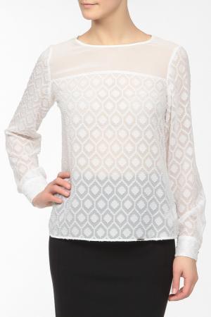 Блузка E.LEVY. Цвет: белый